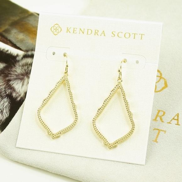 0fdb0e131b5ad Kendra Scott Sophia Earrings Gold Tone